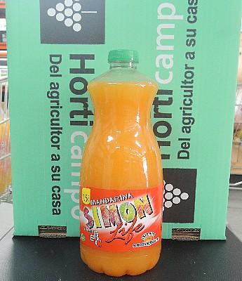 """Refresco """"Simon Life"""" sabor Mandarina 1.5 L. en Sevilla"""