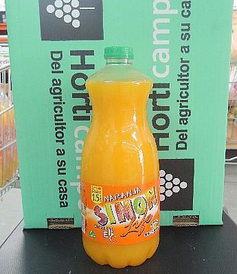 "Refresco ""Simon Life"" sabor Naranja 1.5 L en Sevilla"
