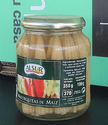 Mazorquitas de Maiz en Sevilla