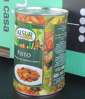 "Pisto ""Alsur"" en Sevilla"
