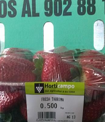 Fresas  500 g en Sevilla