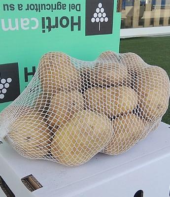 Patata Nueva de Sanlucar  en Sevilla