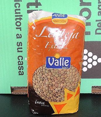 """Lenteja Extra de Castilla """"Valle"""" en Sevilla"""