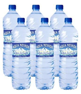"""Agua Mineral """"AQUA NEVADA"""" de Sierra Nevada en Sevilla"""