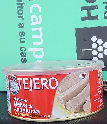 """Filete de Melva """"Tejero"""" en Aceite  Vegetal en Sevilla"""