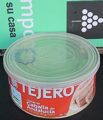 """Filete de Caballa """"Tejero"""" en Acite Vegetal en Sevilla"""