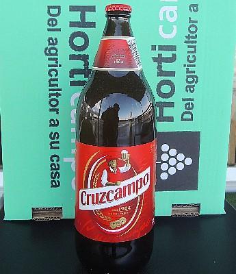Cerveza Cruz Campo 1 L. en Sevilla