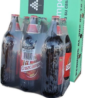 Cerveza Cruz Campo 1 L. Pack 6 en Sevilla
