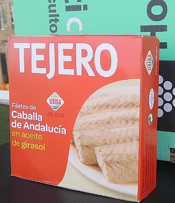 """Filetes de Caballa en Aceite de Oliva """"Tejero"""" 342 en Sevilla"""