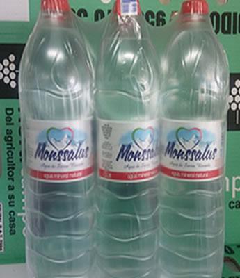 "Agua Mineral ""Monssalus"" 6 x 1.5 litros en Sevilla"