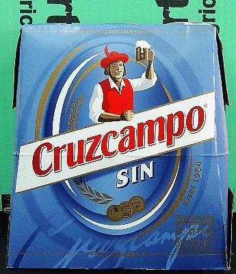 Cerveza Cruzcampo Sin Alcohol Pack de 6 en Sevilla