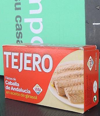 "Filetes de Caballa en Ac. oliva ""Tejero"" 125 g  en Sevilla"